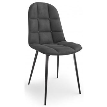 Krzesło K417 Popiel VELVET Halmar