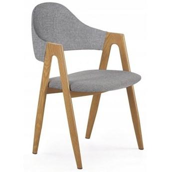 Krzesło Tapicerowane do Kuchni K344 Szare