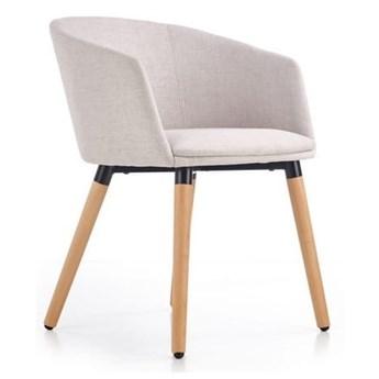 Krzesło Tapicerowane K266 Beżowe do Salonu