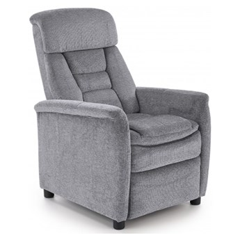 Fotel Rozkładany JORDAN Popiel Halmar