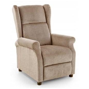 Fotel Rozkładany AGUSTIN Beżowy Halmar