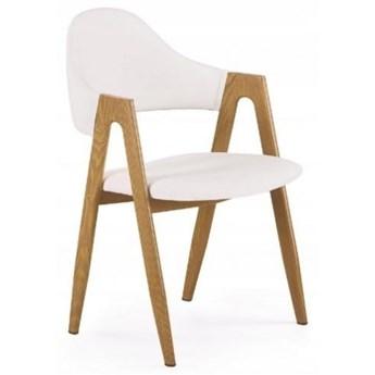 Krzesło Tapicerowane K247 Białe
