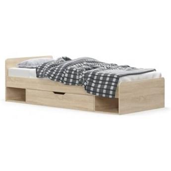 Łóżko z szufladą 90 TIPS Dąb Sonoma