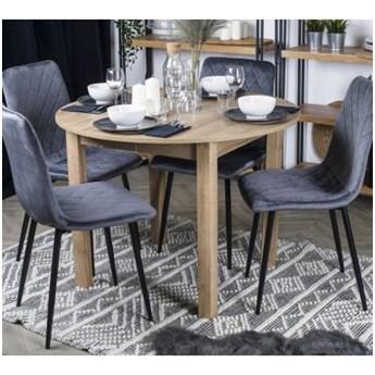 Stół Rozkładany Okrągły  HARRY Dąb Riviera Salon