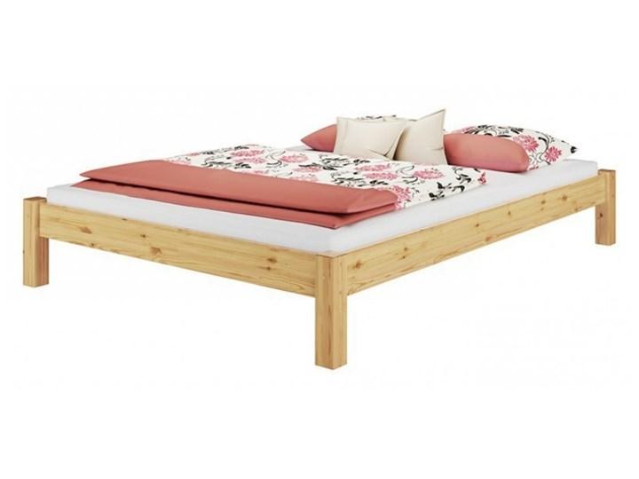 SELSEY Łóżko drewniane Latteria Drewno Styl Klasyczny