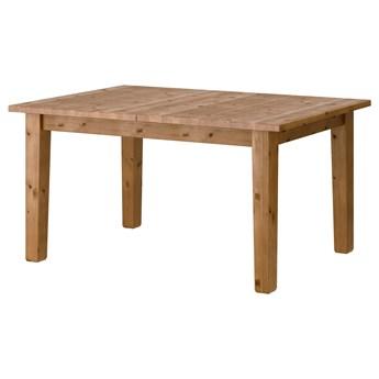 IKEA STORNÄS Stół rozkładany, bejca patynowa, 147/204x95 cm