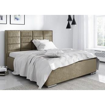Łóżko Salsa tapicerowane z pojemnikiem