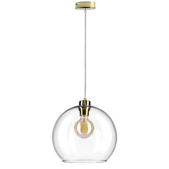 EYRA Lampa wisząca transparentna 30x30x125 cm - Homla