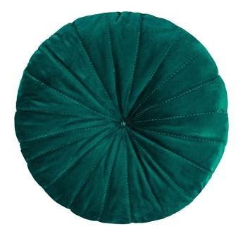 OLLIE Poduszka okrągła zielona 40 cm - Homla