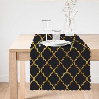 Bieżnik Minimalist Cushion Covers Black Ogea, 45x140 cm