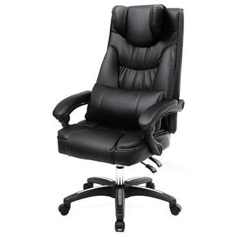SELSEY Fotel biurowy Porter czarny