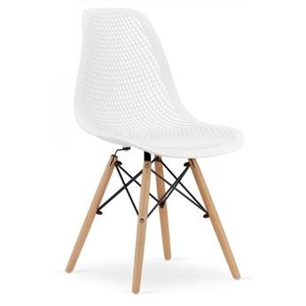 Krzesło Ażurowe Tokka Białe