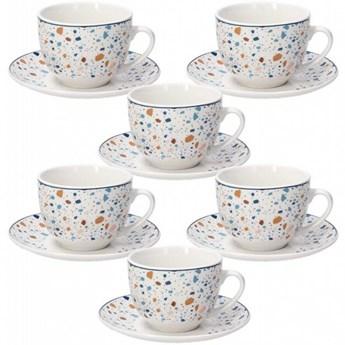 Komplet filiżanek do herbaty Tognana Terrazzo - 6 szt.