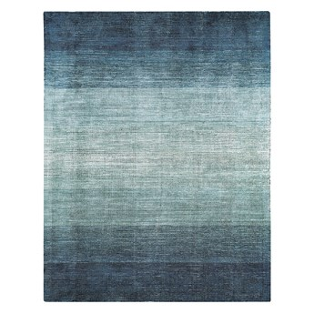 SELSEY Dywan nowoczesny Laroupe niebieski Ombre w paski
