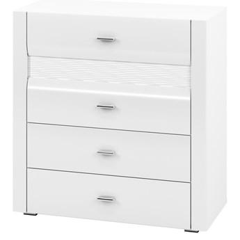 SELSEY Komoda Botten z czterema szufladami biała
