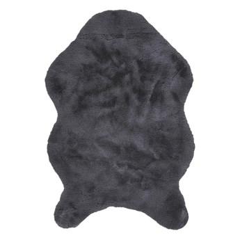 SELSEY Dywanik Kelan sztuczne futerko czarny 60x90 cm