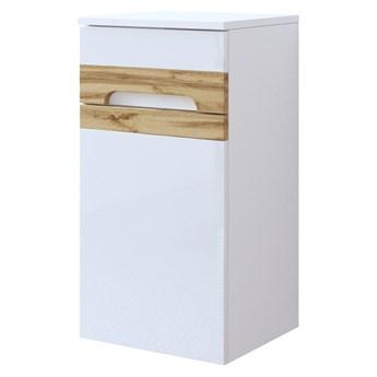 SELSEY Szafka łazienkowa Warner biała