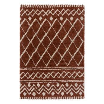 SELSEY Dywan nowoczesny Souk Berber terracotta