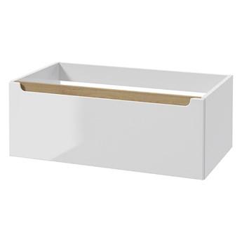 SELSEY Szafka łazienkowa Saeli wisząca z szufladą 30x80 cm
