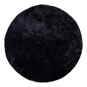 SELSEY Dywan syntetyczny Bridin średnica 120 cm czarny