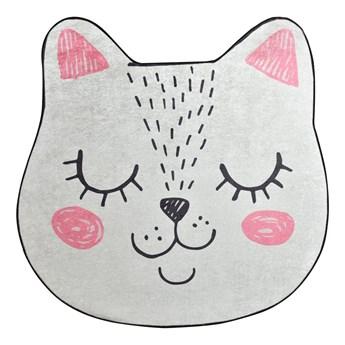 SELSEY Dywan do pokoju dziecięcego Dinkley Sofia w kształcie kotka 200 cm