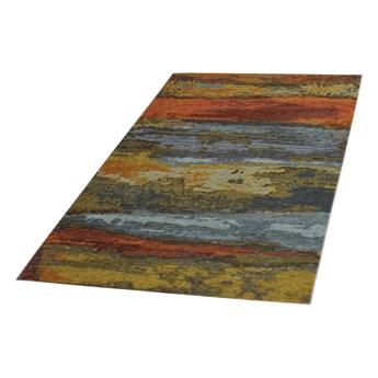 SELSEY Dywan syntetyczny Abstrakcja jesienna 135x200 cm