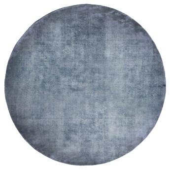 SELSEY Dywan okrągły Mulga niebieski