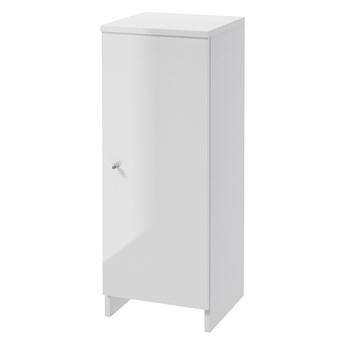 SELSEY Szafka łazienkowa Meandy stojąca biała