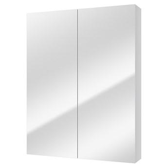 SELSEY Szafka łazienkowa Stouq wisząca podwójna z lustrem 61x76 cm