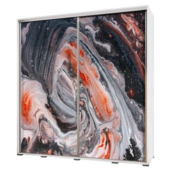 SELSEY Szafa Wenecja 205 cm Dziki marmur