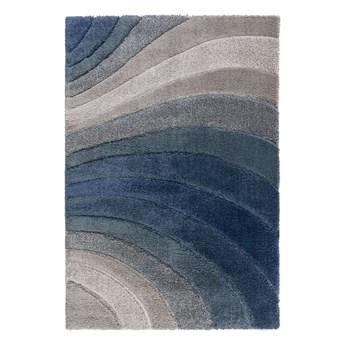 SELSEY Dywan nowoczesny Tidal szary/niebieski