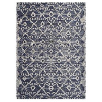 SELSEY Dywan łatwoczyszczący Eson niebieski 160x230 cm