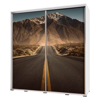 SELSEY Szafa Wenecja 205 cm Droga w góry