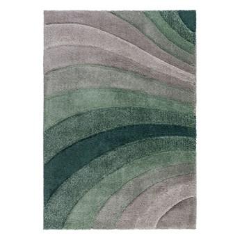 SELSEY Dywan nowoczesny Tidal szary/zielony