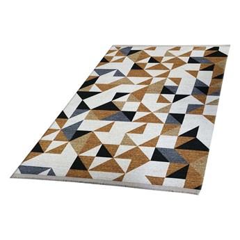 SELSEY Dywan nowoczesny Folkfur trójkąty 150x230 cm