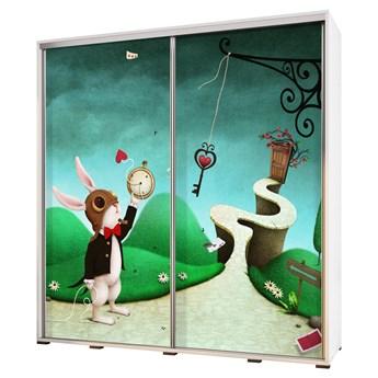 SELSEY Szafa Wenecja 205 cm Wonderland
