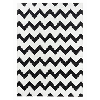 SELSEY Dywan łatwoczyszczący Nym czarno-biały 160x230 cm