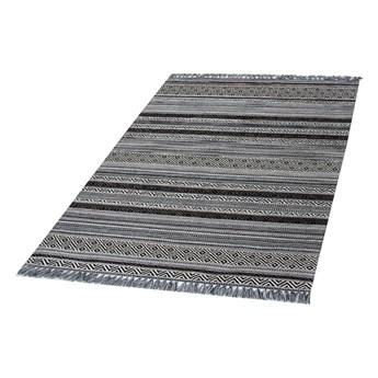 SELSEY Dywan syntetyczny Plecyon czarno-biały 80x150 cm