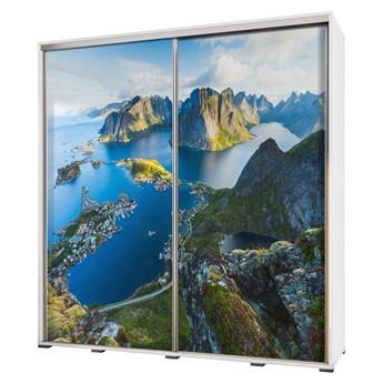 SELSEY Szafa Wenecja 205 cm Lot nad górami