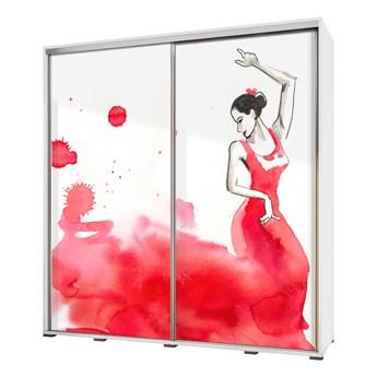 SELSEY Szafa Wenecja 205 cm Flamenco