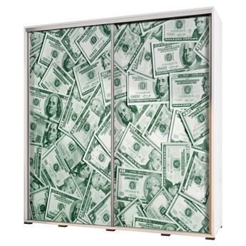 SELSEY Szafa Wenecja 205 cm Dolary