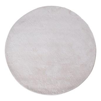 SELSEY Dywan syntetyczny Bridin średnica 120 cm złamana biel