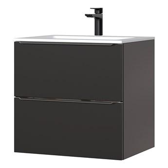 SELSEY Szafka pod umywalkę Ursala 60 cm czarna