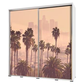 SELSEY Szafa Wenecja 205 cm Los Angeles z palmami