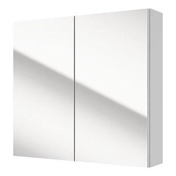 SELSEY Szafka łazienkowa Stouq wisząca podwójna z lustrem 65x60 cm