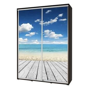 SELSEY Szafa Wenecja 155 cm Plaża