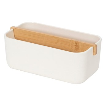 Biały organizer łazienkowy Compactor Ecologic, 15x7,9 cm