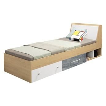 Łóżko ze stelażem i szufladami STEP 90       Salony Agata