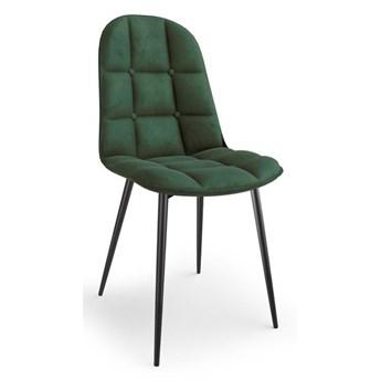 Krzesło K417 Velvet granatowy