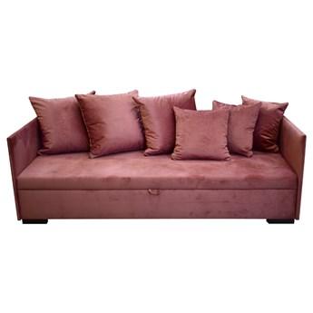 SELSEY Łóżko pojedyncze Trotte 90x197 cm różowe